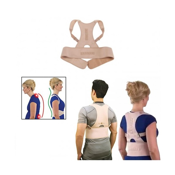 Centura pentru indreptarea coloanei vertebrale si eliminarea dur