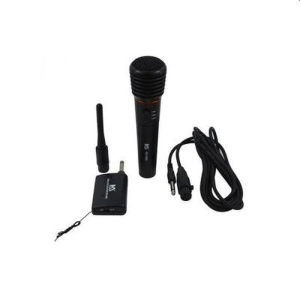 Microfon wireless, cu receiver, sunet clar, functioneaza si cu fir