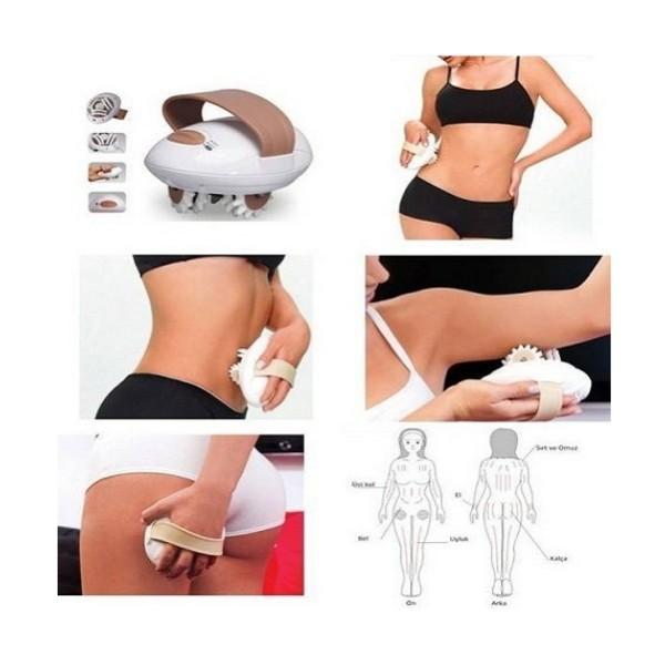 Aparat de masaj pentru abdomen, coapse si fese, Body Slimmer