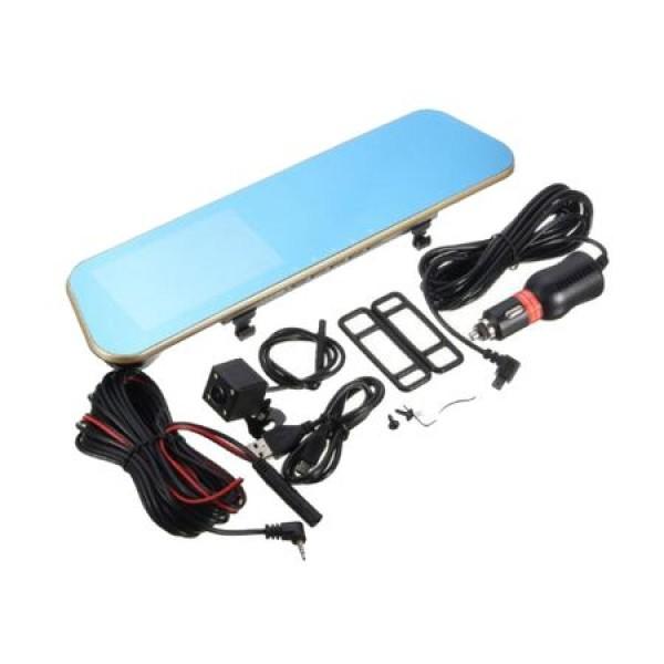 Oglinda monitor dual camera 4.3 inch pentru parcare AT BTK15L 2C