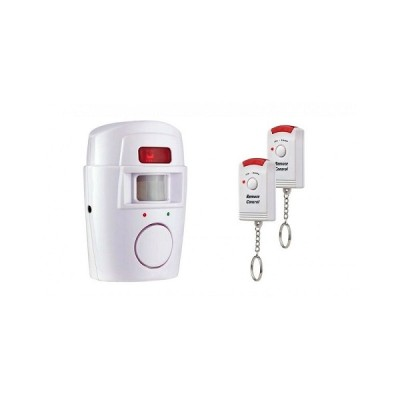 Alarma wireless cu senzor de miscare si 2 telecomenzi