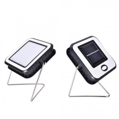 Proiector solar 10 w, cu USB pt incarcare la priza, 15 ore auton