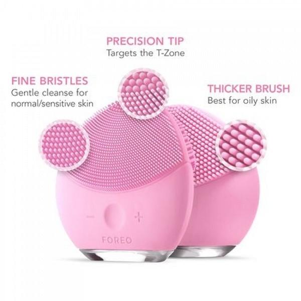 Dispozitiv curatare faciala Luna Mini, roz