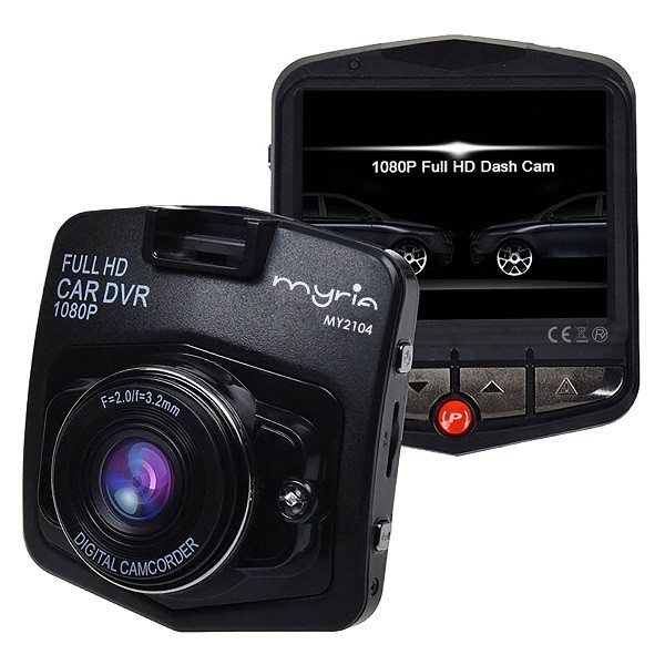 Camera auto DVR, full HD, 1080p, Negru