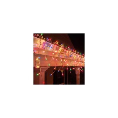 Instalatie led Craciun 12m, cu franjuri si turturi diverse culor