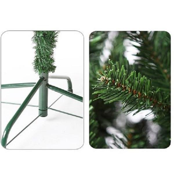 Brad Artificial de Craciun 1.8 m Verde cu Suport Inclus