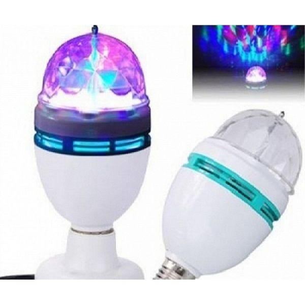 Bec Rotativ Multicolor cu LED