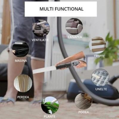 Dust Daddy - adaptor universal pentru aspirator, tip perie