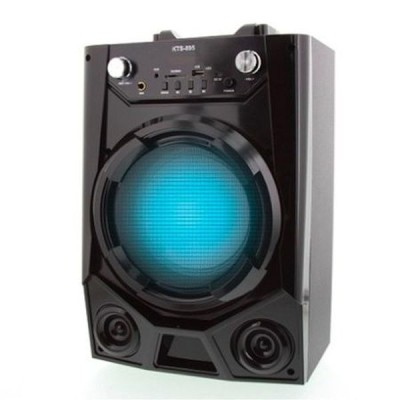 Boxa Portabila 20 Watt Karaoke, Microfon cadou, Bluetooth, AUX,