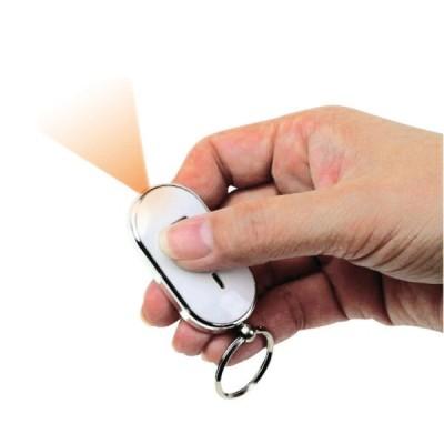 Breloc localizator de chei prin fluierat