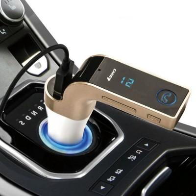 Modulator FM auto cu kit Bluetooth handsfree pentru apeluri