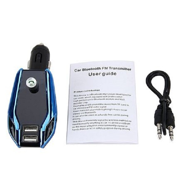 Car kit auto Bluetooth, modulator FM, Usb - X8 plus