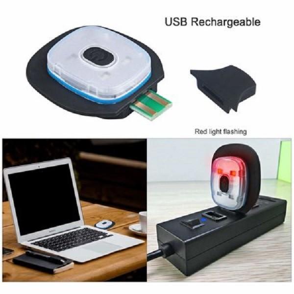 Caciula neagra cu LED reincarcabil, unisex, marime universala, c