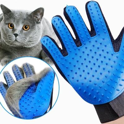 manusa pentru animale albastra