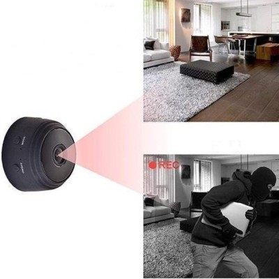 Mini camera WI-FI,vedere nocturna, senzor de miscare