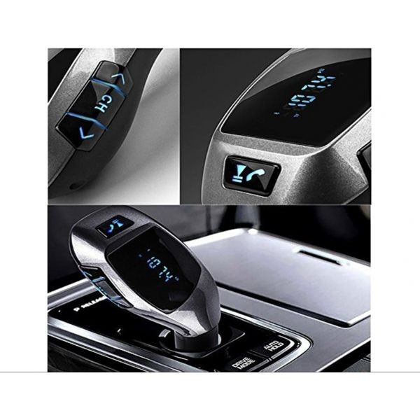 Modulator FM auto bluetooth x6, sunet de calitate