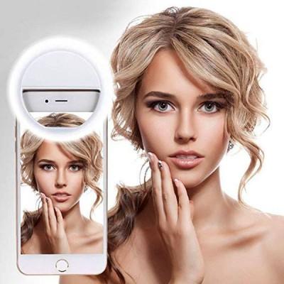 Selfie Ring - inel cu LED-uri albe pentru luminozitatea perfecta