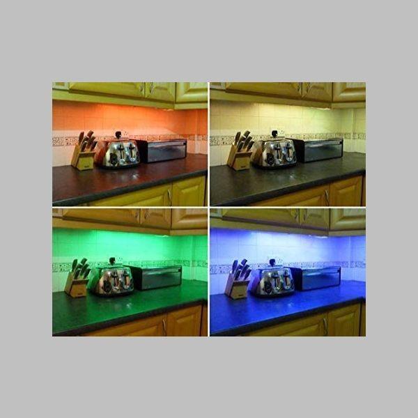 banda led colorata
