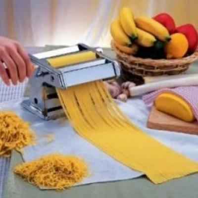 Masina de taitei si spaghete,  inox, cu 6 dimensiuni de taiere