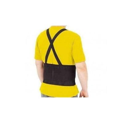 Centura lombara de lucru, reglabila, cu bretele, protejeaza spat