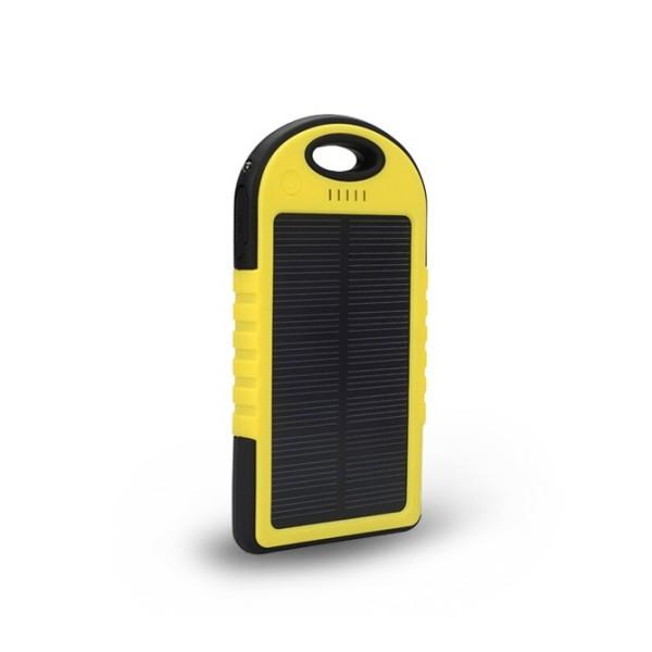Baterie externa solara 12000 mAh - Rezistenta la socuri si udat
