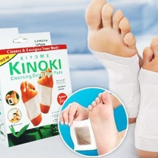 Set 50 de plasturi kinoki pentru detoxifiere, slabit si piele sa