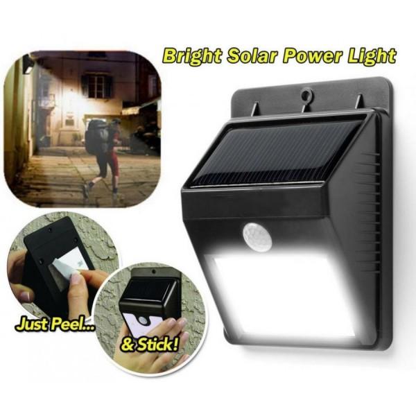 Lampa LED cu incarcare solara si senzor de miscare EverBrite
