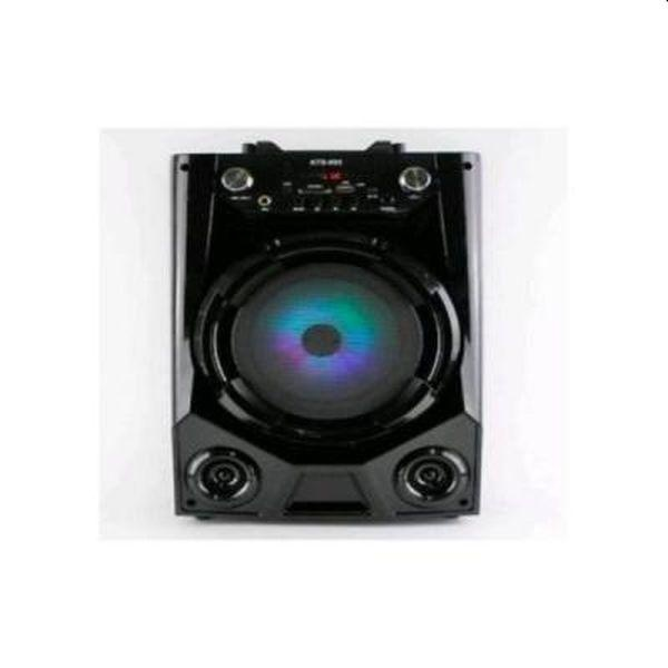 Boxa Portabila 20 Watt Karaoke, Microfon cadou, Bluetooth, AUX, USB, Card, Radio FM