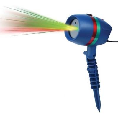 Proiector laser cu lumini, static si miscator figurine de Craciun