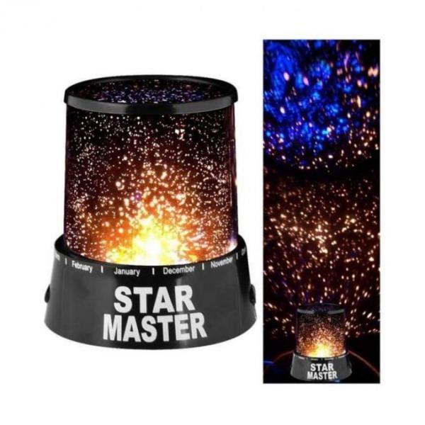 Proiector StarMaster cu stelute multicolore