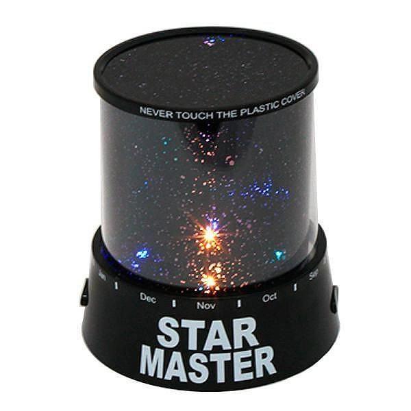 Lampa de veghe cu proiector astronomic
