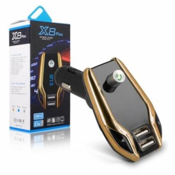 KIt auto bluetooth modulator FM x8 super calitate, muzica prin BT, USB sau card