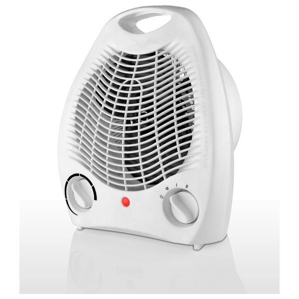 Aeroterma 2000W, cu termostat, aer cald/rece