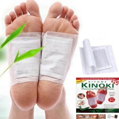 Set 50 de plasturi kinoki pentru detoxifiere, slabit si piele sanatoasa, prietenul picioarelor sanatoase!