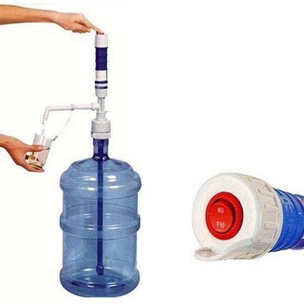 Dozator automat de apa plata pentru bidoane mari, de 17-20 de litri