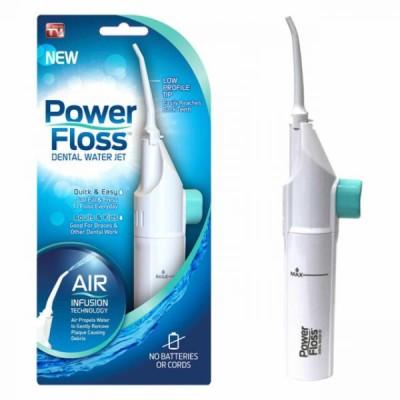 Aparat de curatare interdentara Power Floss, pentru dinti sanatosi si respiratie proaspata