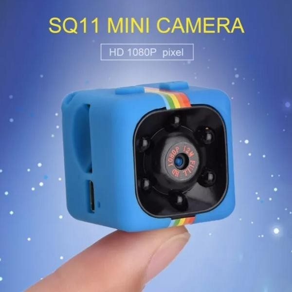 Camera SQ 11 foto video cu senzor de miscare si infrarosu pentru noapte