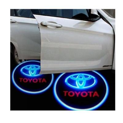 Set 2 proiectoare auto cu holograma Toyota