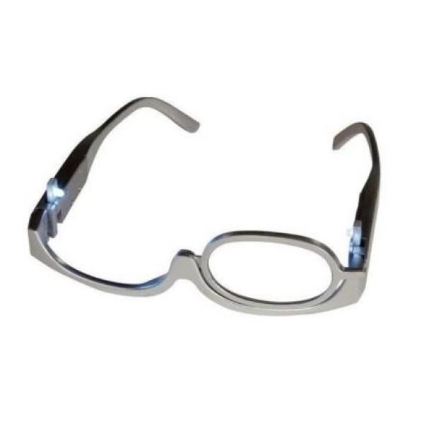 Ochelari pentru aplicarea machiajului, cu zoom +3