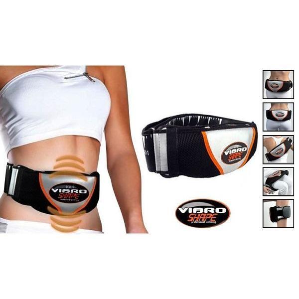 Centura cu vibratii pentru abdomen, relaxeaza  si tonifiaza
