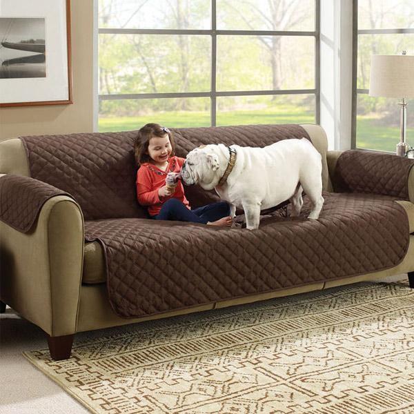 Husa pentru canapea cu fata dubla, rezistenta la uzura