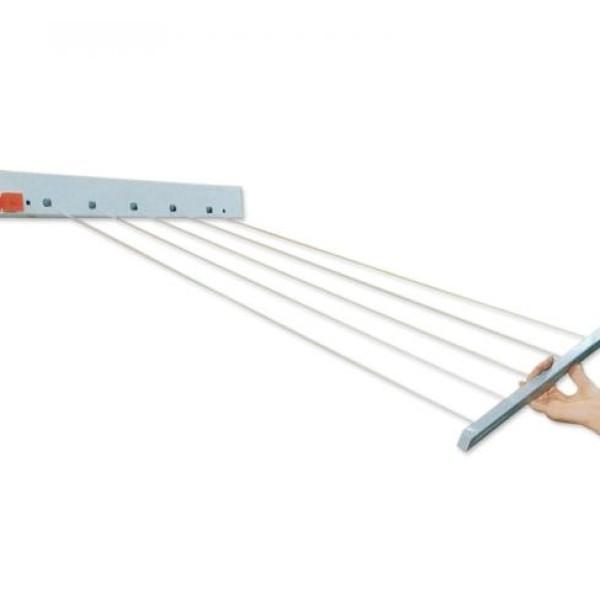 Suport de rufe cu sfoara retractabila, pentru 4 m de rufe