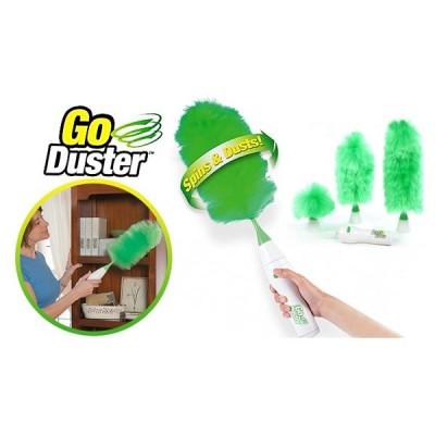 Pamatuf de praf, rotativ, Go Duster, cu rezerve si spray inclus