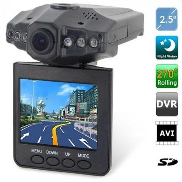 Camera auto video HD DVR 720p, filmare de calitate