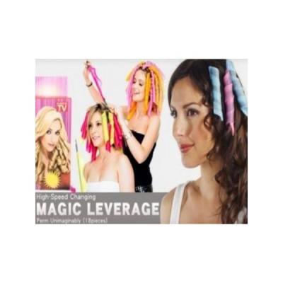 Bucle mari sau mici cu bigudiurile flexibile Magic Leverager