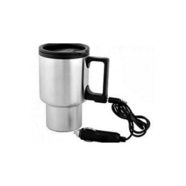 Cana auto pentru cafea, termoizolanta, se conecteaza la bricheta