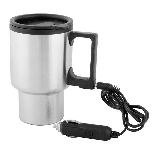 Cana termos auto pentru cafea si ceai, cu capac