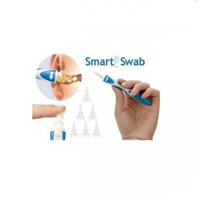 Dispozitiv de ingrijire a urechii, Smart Swab, cu 16 capete in forma de spirala