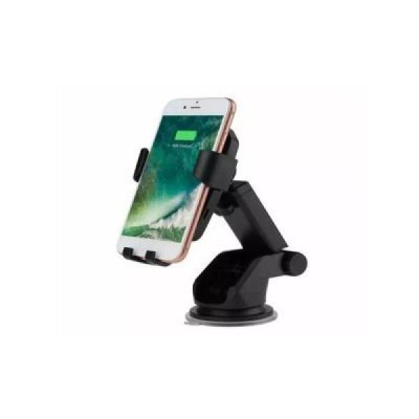 Suport auto pentru telefon cu incarcare wireless