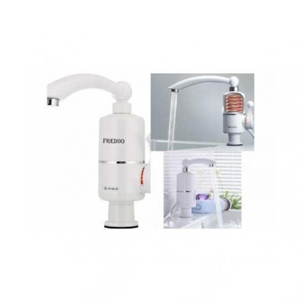 Robinet electric pentru apa calda in doar cateva secunde, model universal